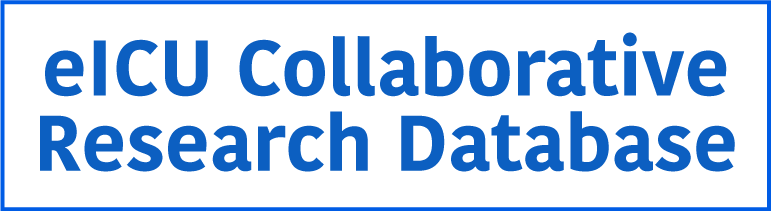 eICU Collaborative Research Database Logo
